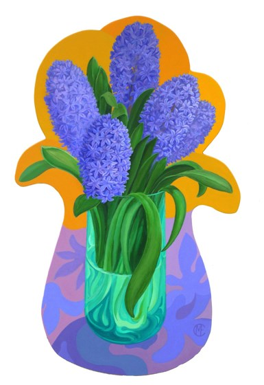 Hyacinth by Marina Elphick at the Saffron Walden Gallery
