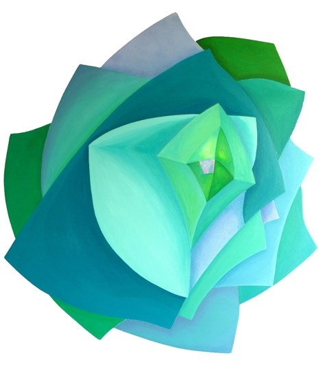 Diamond Rose by Marina Elphick at the Saffron Walden Gallery
