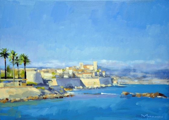 Antibes by Jack Morrocco at the Saffron Walden Gallery