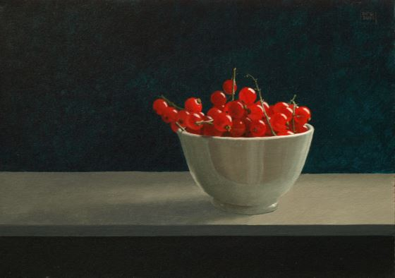 Redcurrants by David Paul Gleeson at the Saffron Walden Gallery