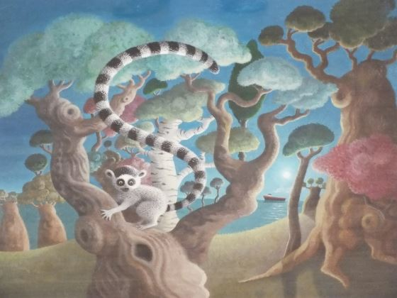The Lemur's Tale by  at the Saffron Walden Gallery