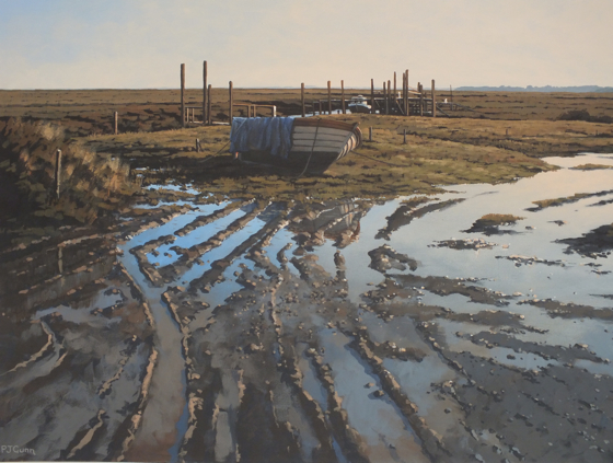 Mud & Reflections, Thornham Quay