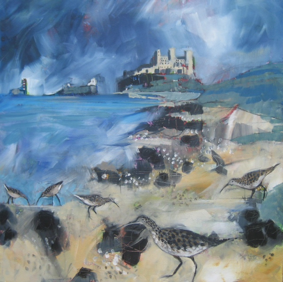 Bamburgh by Relton Marine at the Saffron Walden Gallery