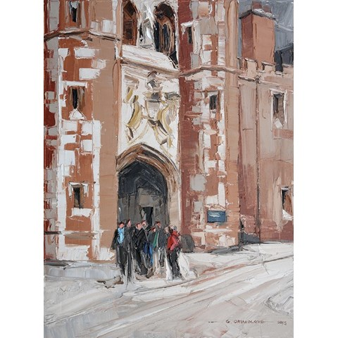 St. Johns College by Daniel Gbenga Orimoloye at the Saffron Walden Gallery