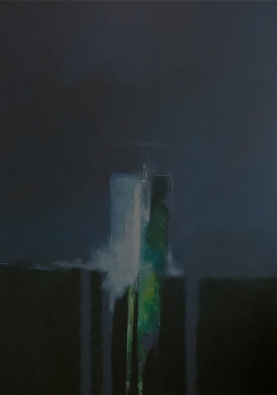 Monolith by Stephen J Foster at the Saffron Walden Gallery