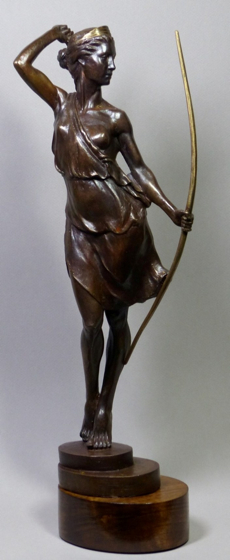 Artemis by Tristan MacDougall at the Saffron Walden Gallery