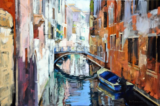 Malpaga, Venice by Jack Morrocco at the Saffron Walden Gallery