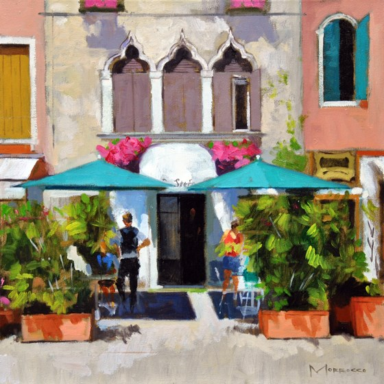 Campo San Stefano, Venice by Jack Morrocco at the Saffron Walden Gallery
