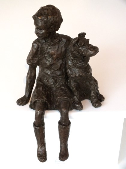 Companions by Rosemary Cook at the Saffron Walden Gallery