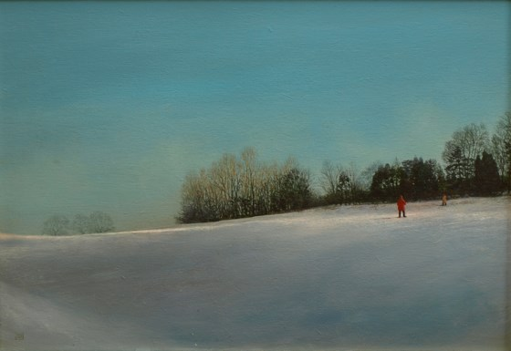 Late Afternoon... by David Paul Gleeson at the Saffron Walden Gallery