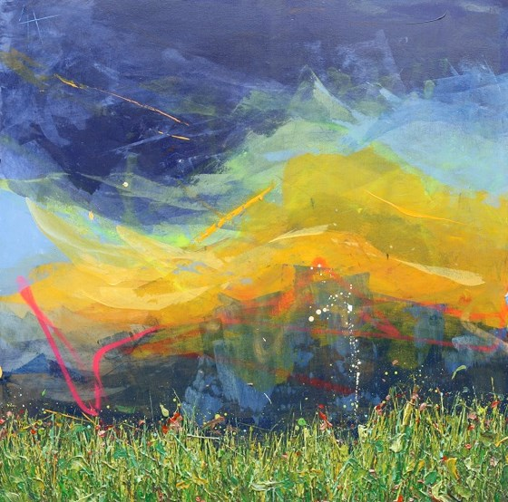 Amber Storm by Lee Herring at the Saffron Walden Gallery