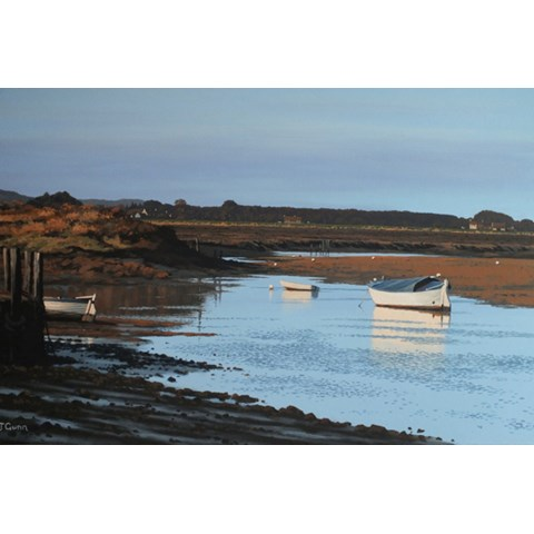 Morning Light, Burnham Overy Staithe by  at the Saffron Walden Gallery