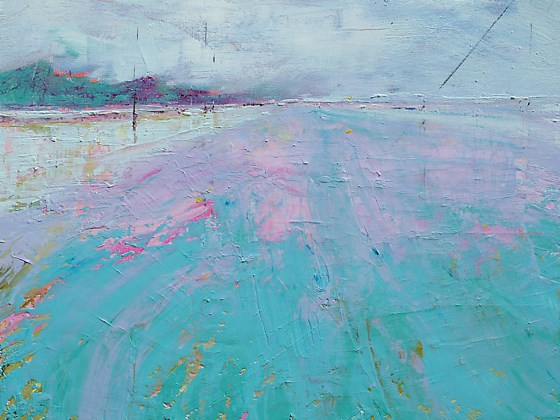 Saunton Sands by Sara Bor at the Saffron Walden Gallery