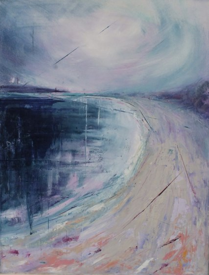 Pentle Bay III, Tresco by Sara Bor at the Saffron Walden Gallery