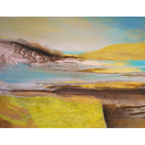 Sea Walk by Gail de Cordova at the Saffron Walden Gallery