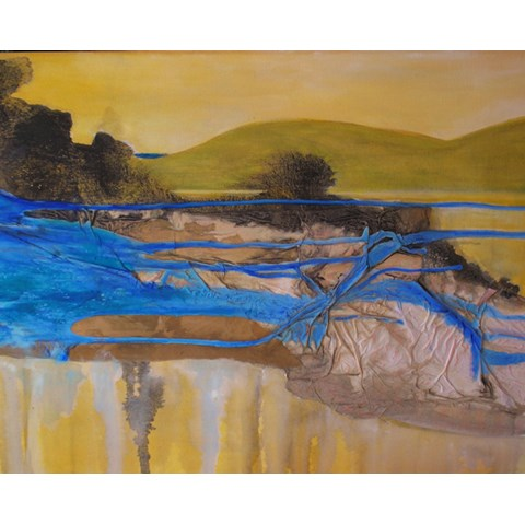Road to Jerez by Gail de Cordova at the Saffron Walden Gallery