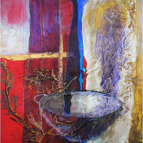 Enduring Bowl by Gail de Cordova at the Saffron Walden Gallery