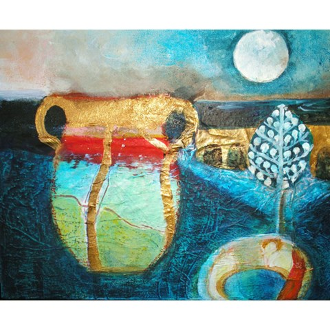 Cadiz Moon by Gail de Cordova at the Saffron Walden Gallery