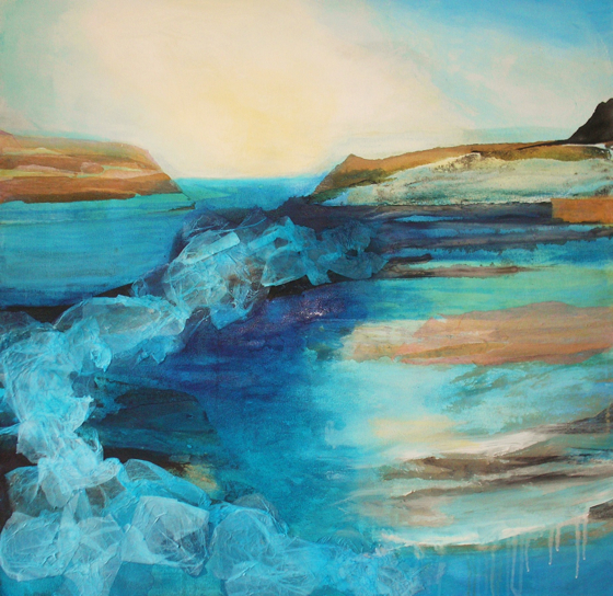 Morning Tide by Gail de Cordova at the Saffron Walden Gallery