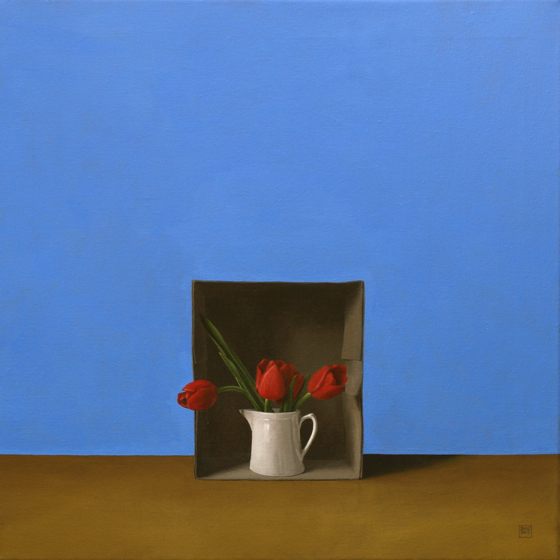 Tulip Box by David Paul Gleeson at the Saffron Walden Gallery