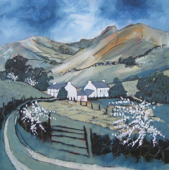 Little Langdale Spring by Relton Marine at the Saffron Walden Gallery