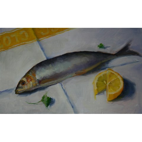 Sardine Supper by  at the Saffron Walden Gallery