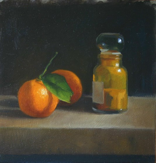 Spice and Satsuma by Liz Balkwill at the Saffron Walden Gallery