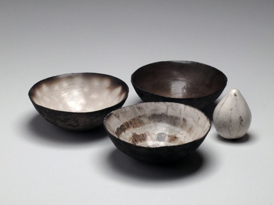 Nest of Three Vessels with Seed