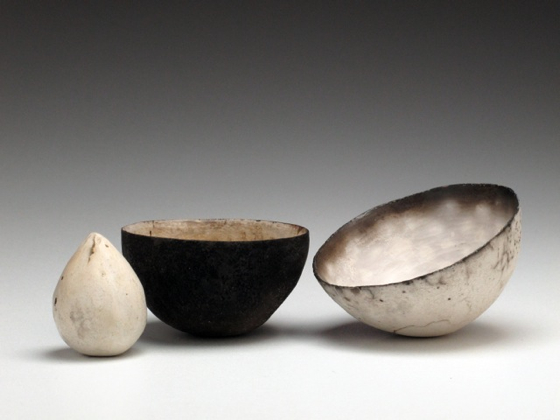 Nest of Two Vessels with Seed by Karen Banks at the Saffron Walden Gallery