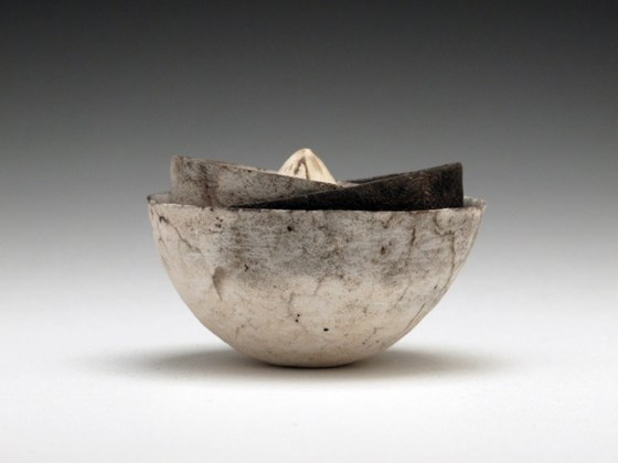 Nest of Three Vessels with Seed at the Saffron Walden Gallery