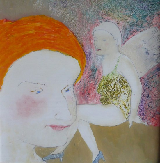 An Angel on My Shoulder by Jelena Lukic at the Saffron Walden Gallery