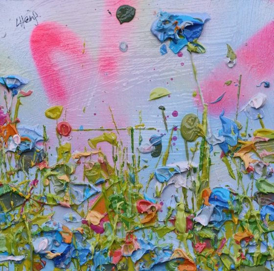 Floral Sunshine by Lee Herring at the Saffron Walden Gallery