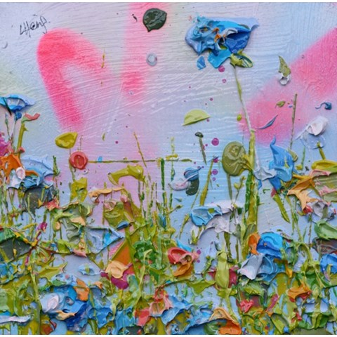 Floral Sunshine by  at the Saffron Walden Gallery