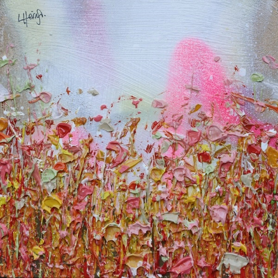 Bright Crops by Lee Herring at the Saffron Walden Gallery