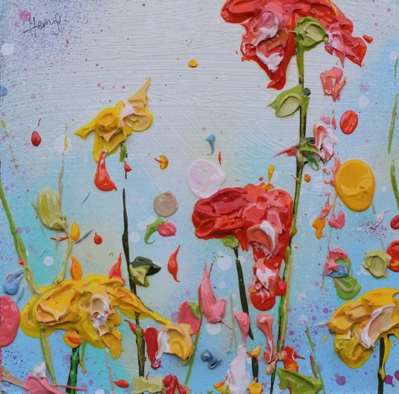 Petals Fall by Lee Herring at the Saffron Walden Gallery