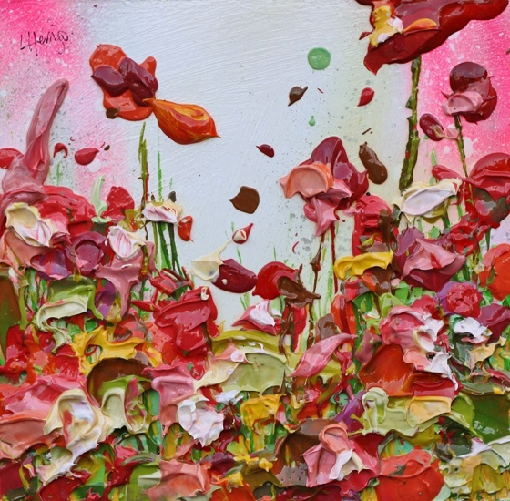 Rose Bushes by Lee Herring at the Saffron Walden Gallery
