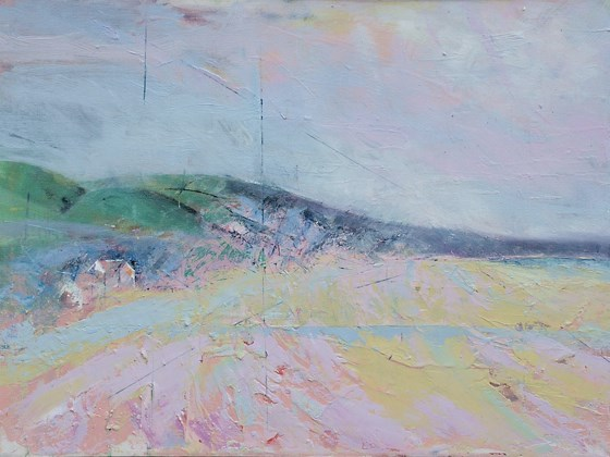 Woolacombe III  by Sara Bor at the Saffron Walden Gallery
