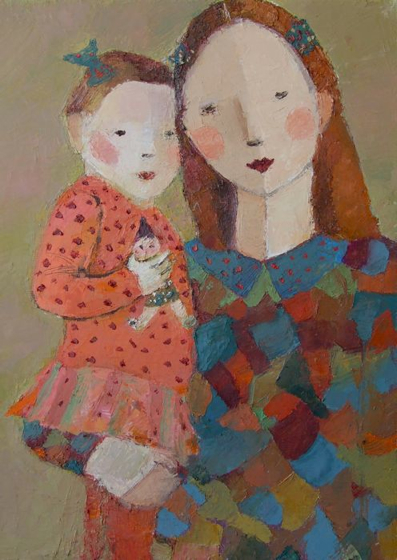 Lottie by Catriona Millar at the Saffron Walden Gallery
