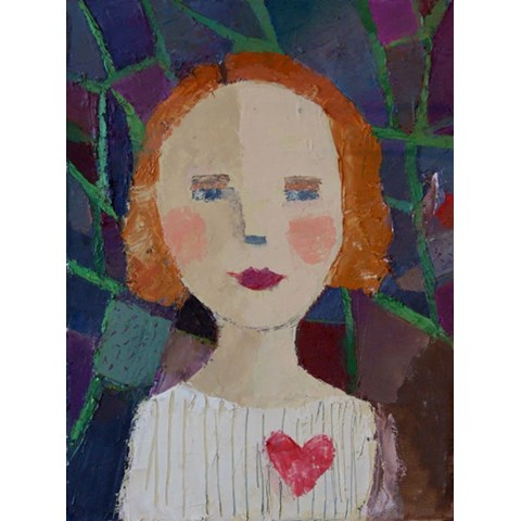 Sweetheart by Catriona Millar at the Saffron Walden Gallery
