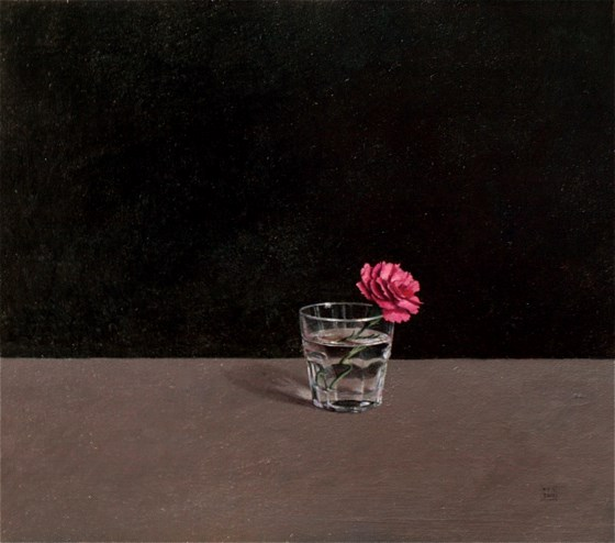 Carnation by David Paul Gleeson at the Saffron Walden Gallery