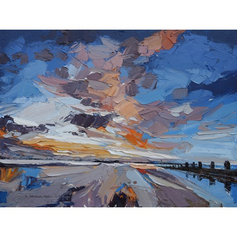 Chichester Harbour by Daniel Gbenga Orimoloye at the Saffron Walden Gallery