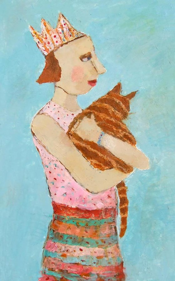 Lucy & Wizard by Catriona Millar at the Saffron Walden Gallery