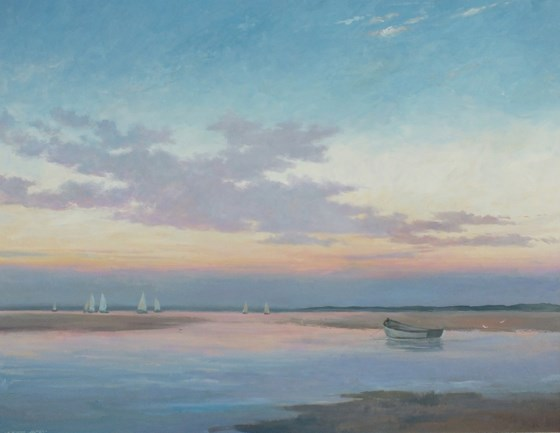 North Norfolk Coast II by Stephen James at the Saffron Walden Gallery