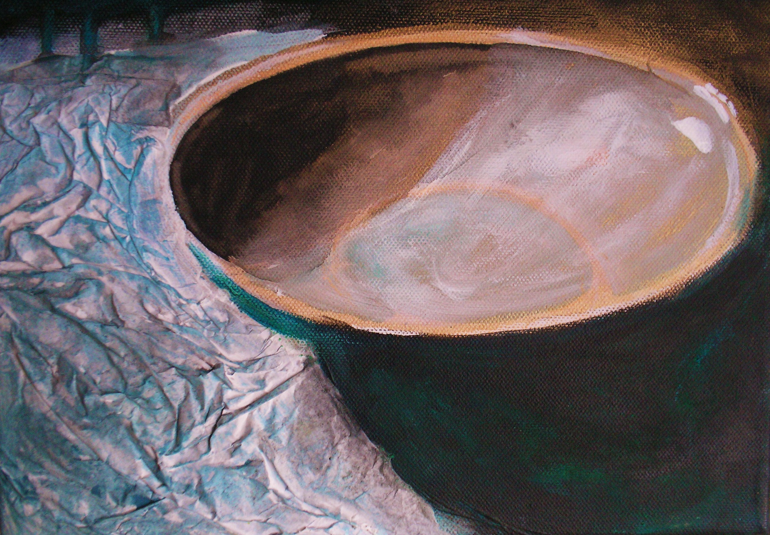 Mari's Bowl by Gail de Cordova at the Saffron Walden Gallery