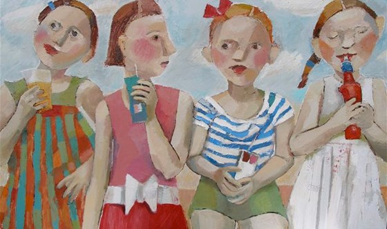 Holiday by Catriona Millar at the Saffron Walden Gallery