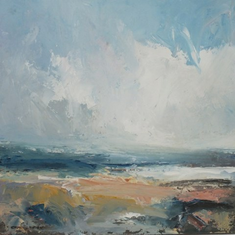 Purbeck Sky by Stephen J Foster at the Saffron Walden Gallery