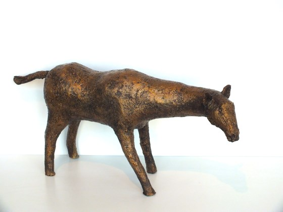 Horse Alone II by Helen Craig at the Saffron Walden Gallery