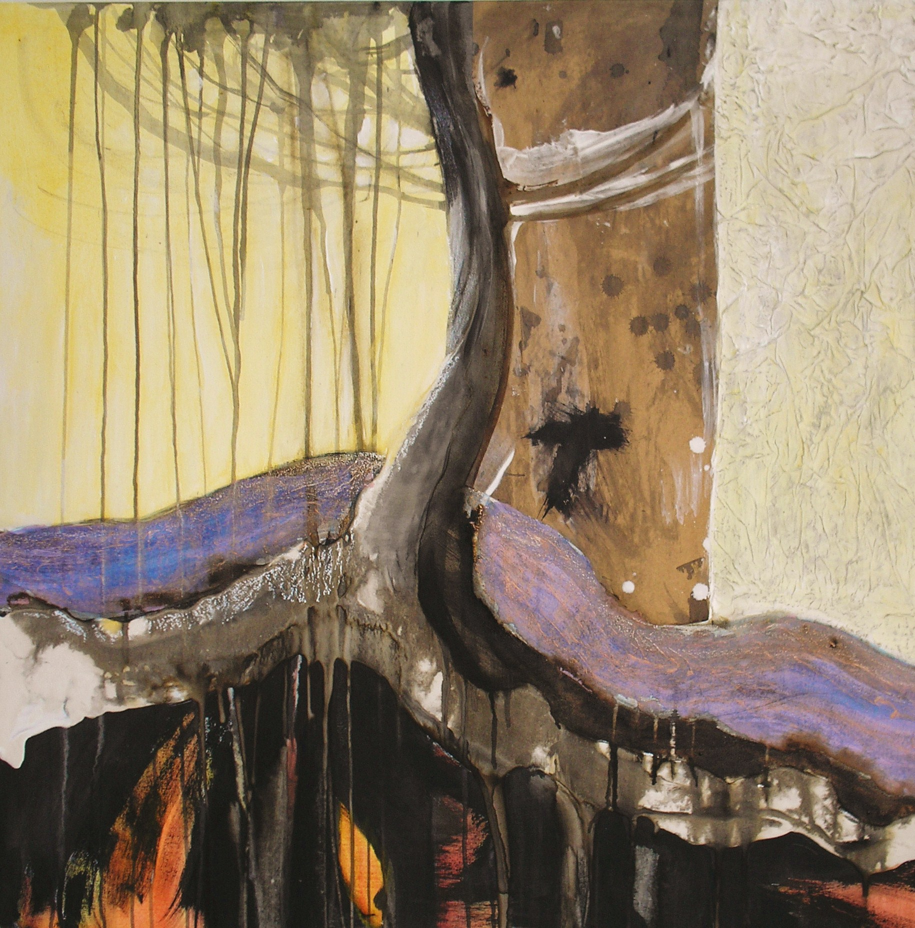 Song of the Earth by Gail de Cordova at the Saffron Walden Gallery