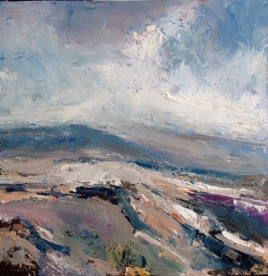 Tyneham, Purbeck Coast by Stephen J Foster at the Saffron Walden Gallery