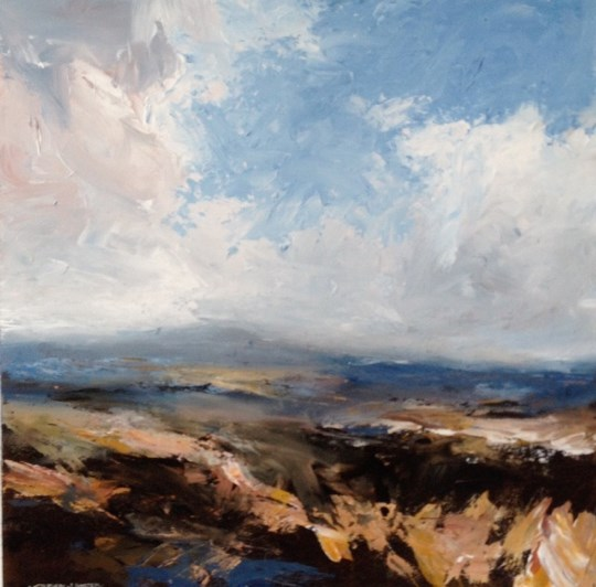 Tyneham II, Purbeck Coast by Stephen J Foster at the Saffron Walden Gallery